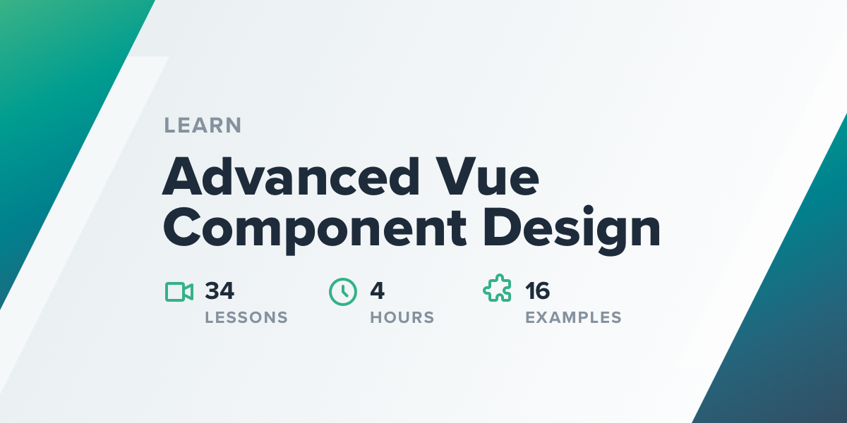 Advanced Vue Component Design